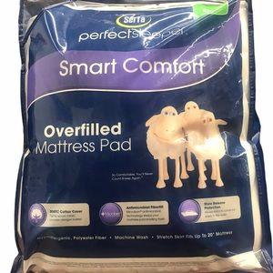 Serta Smart Comfort Overfilled Mattress Pad
